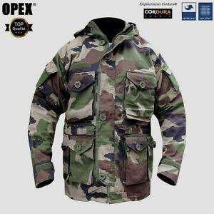 Parka VESTE GUERILLA Felin RIPSTOP CE OPEX Armée Française & Légion Taille S 88