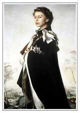 Queen Elizabeth II portrait picture print A3 unframed royalty British Monarchs
