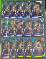 2017-18 Optic JOSH JACKSON RC #197 Shock Red Yellow  Prizm Lot (15) Grizzlies