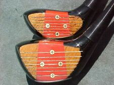 PERSIMMON Toney Penna Golf Clubs Refurbished Woods RH Set Driver & 3 w New Grips