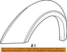 Dodge CHRYSLER OEM-Front Fender Flare Wheel Well Arch Molding Right 5KH34CD7AC