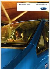 Ford Focus C-Max 2006-07 UK Market Sales Brochure Ghia Zetec LX Studio