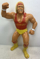 Vintage WWF LJN Superstars 1988 Red Shirt Hulk Hogan Wrestling Action Figure