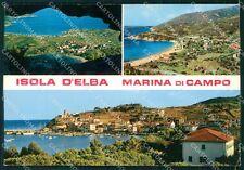 Livorno Isola d'Elba Marina di Campo Foto FG cartolina KF2000