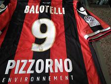 Maglia Balotelli #9 Nizza OGC NICE Shirt Maillot Jersey
