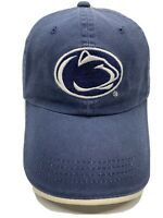Penn State Nittany Lions Cap  Hat Stretch NCAA Navy Blue Adjustable Strapback