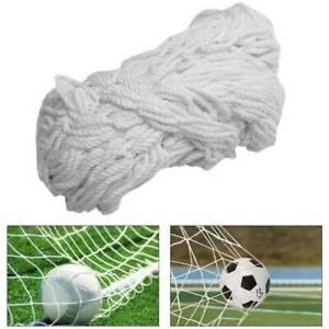 12FT X 6FT Football/Soccer Replacement Post Net/Netting Fits Samba/Poly Goal UK