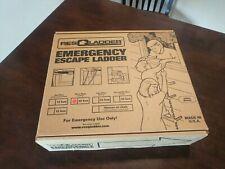 ResQladder Fl25 Escape Ladder, 3 Story Portable Emergency Escape Ladder, 25-Foot