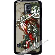 For Samsung Galaxy S5 SM-G900i Case Phone Cover Road Bike Art Y00552