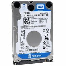 Western Digital Blue 500 GB Laptop Hard Disk Drive 5400 RPM SATA 6 Gb/s 2.5 inch