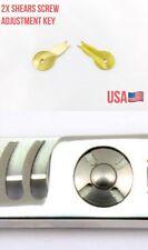 2X Professional hair Pet scissors  shears Pivot UFO screw adjustment key