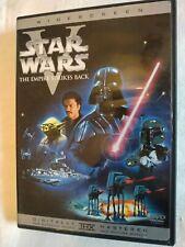 Star Wars The Empire Strikes Back Episode V Dvd case leaflet 2004 Fisher Ford Pg