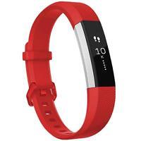 Fitbit Alta HR Armband Ersatz Silikon Band Uhrenarmband Fitness Tracker ROT