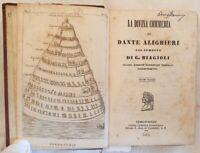 DANTE ALIGHIERI LA DIVINA COMMEDIA 1845 9 INCISIONI PURGATORIO DIVINE COMEDY
