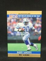 1990 Proset Barry Sanders Gold Gem Mint HIF MINT