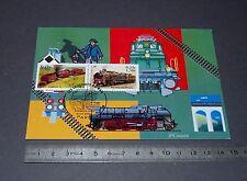 CARTE POSTALE 1er JOUR PHILATELIE 2001 TRAIN GARRATT 59 PACIFIC CHAPELON SNCF