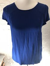 Sportsgirl Size 6 Royal Blue Top Shirt EUC Business Casual