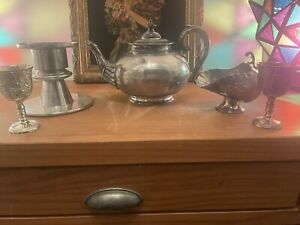 C1900 Silver Plated Hollmarked Antique .