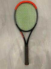 Wilson Clash 98 STRUNG 4 1/2 (Tennis Racket 10.9 oz 310g 16x19 pro tour flex )