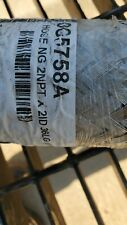 Generac 0G5758A Stainless Steal Braided Natural Gas Hose Ng 2Npt X 2Id 55Lg