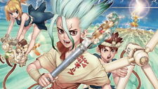"005 Dr Stone - Hot Fight Japan Anime 42""x24"" Poster"