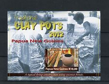 Papua New Guinea 2012 MNH Traditional Clay Pots 1v S/S West Sepik Cooking