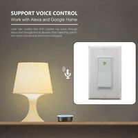 In-Wall Wifi Smart Switch Timer Phone APP Voice Control For Amazon Echo Alexa