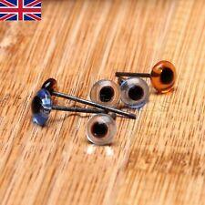 UK STOCK 150 Pairs Multi Colour Glass Teddy bear Eyes 5mm Needle Felting Sewing