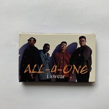 ALL-4-ONE - I SWEAR - 90S LOVE SONGS - CASSETTE TAPE - VINTAGE