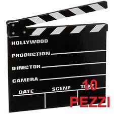 STOCK 10 PZ CIAK CINEMA FILMINO RIPRESA RIPRESE FILM REGISTA MATRIMONIO FESTA