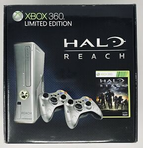 SEALED Xbox 360 Halo: Reach Limited Edition Silver Console US seller Microsoft