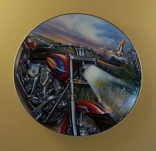 Pride of America Plate DAWN'S EARLY LIGHT Motorcycle Patriotic Marc Lacourciere