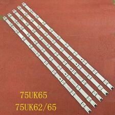 LED bar(5)for LG 75UK6500PLA 75UK6200PLB 75UK6570PUB 75UK65 75UK62/65 75UN6950