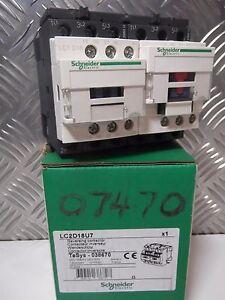 Schneider LC2D18U7 LC2D18 038670 3-Pole REVERSING Contactor, 10 kW 240V ac Coil