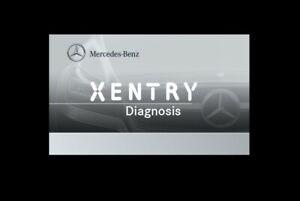 Mercedes Xentry Passthru 03.2020 (VMware) - Diagnosis Mercedes Smart Fuso Setra