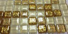 3Ñ…135 pcs 10x10sm Glitter Glass mosaic for Craft, Art, Decoration,Bath,Kitchen