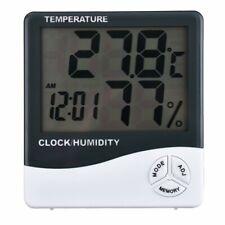 Tempo di Saldi Orologio Digitale LCD con Termometro e Igrometro Integrati - Bianco (HTC1)