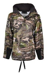 Under Armour Hunting Camo 1/4 Zip Fleece Top 1297415 943 Womens Size L MSRP $109