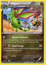 4X Pokemon Furious Fists Flygon 76/111 Rare Card