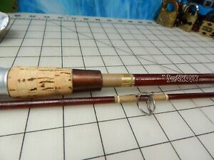 """Vintage fishing rod ST.CROIX LEWIS & CLARK 6'9"""" cork reel lure transparent cast"""
