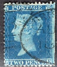 GB UK 1856/8 STAMP Sc. # 21 PERF: 14x14 USED 2d