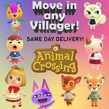 MOVE IN ANY Animal Crossing Villager (IN BOXES) - READ DESCRIPTION
