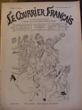 COURRIER FRANCAIS 1901 N 31 LES COUSINES de A .WILLETTE