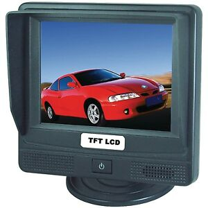 "NEW Crimestopper SV-8600.TS 3.5"" Touch Screen LCD"