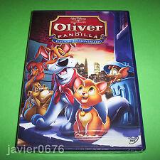 OLIVER Y SU PANDILLA CLASICO DISNEY NUMERO 27 DVD NUEVO Y PRECINTADO