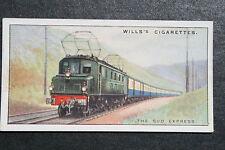 The Sud Express  Midi Railway  France    1930's Original Vintage Card