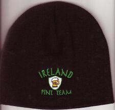 IRISH PINT TEAM BLACK BEANIE   St.Patricks Day Irish