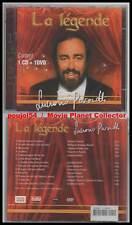 """LUCIANO PAVAROTTI """"La Légende"""" (CD+DVD) 2005 NEUF"""