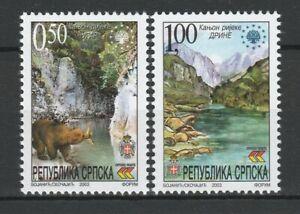 Bosnia and Herzegovina Serbian 2003 Fauna Animals Bears 2 MNH stamps