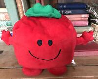Mr Men Little Mr Strong Plush Toy Pillow Reversible Neck Cushion Support Travel
